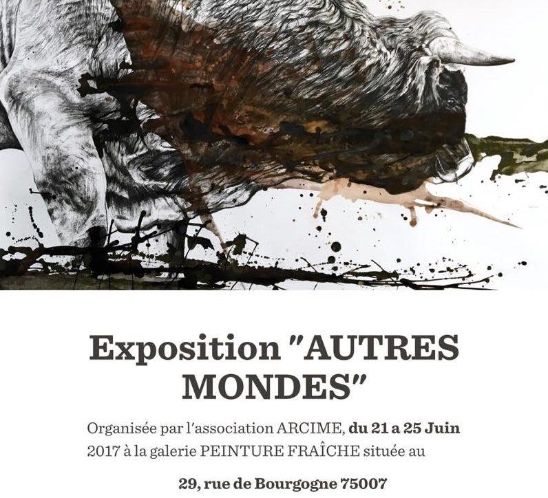 Exposition «Autres Mondes» à la galerie Peinture Fraîche - Cedric Peltier